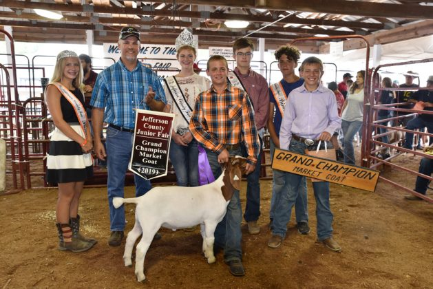 Jefferson County Fair Grand Champion Goat
