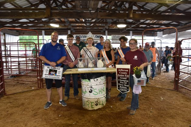 Jefferson County Fair Grand Champion Rabbits