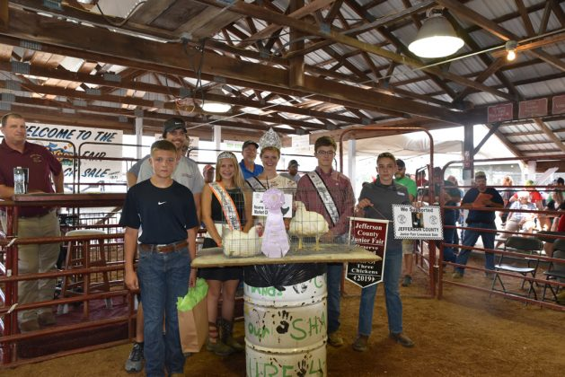 Jefferson County Fair Reserve Champion Chickens