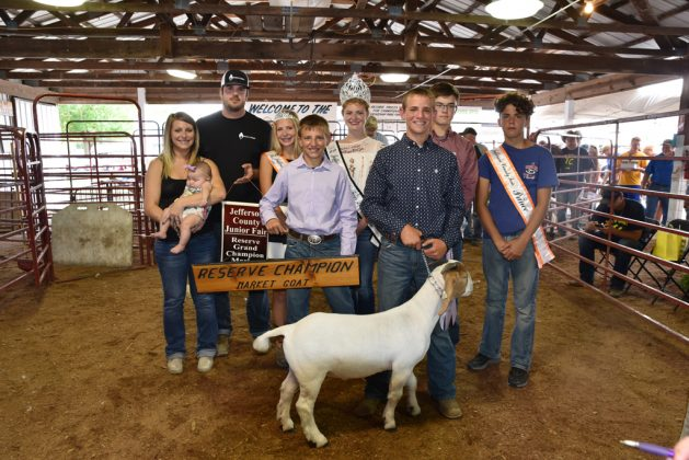 Jefferson County Fair Reserve Champion Goat