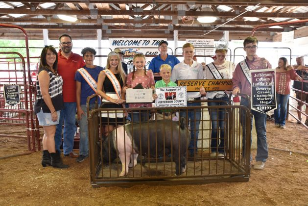Jefferson County Fair Reserve Champion Hog