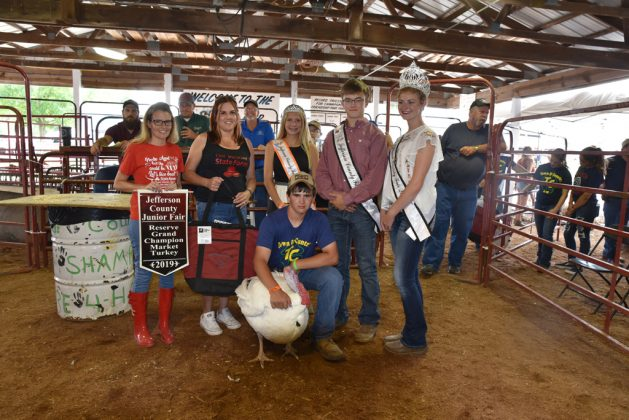 Jefferson County Fair Reserve Champion Turkey