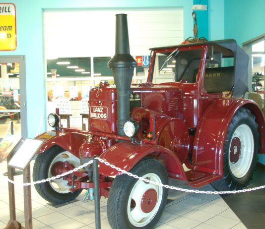 Keystone Truck and Tractor Museum exhibit