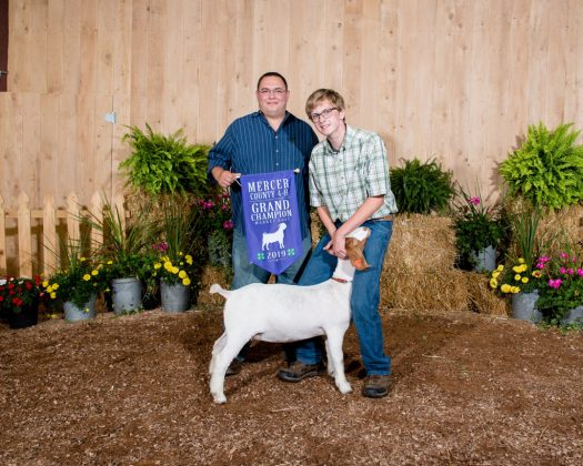 Mercer County Fair Grand Champion Goat