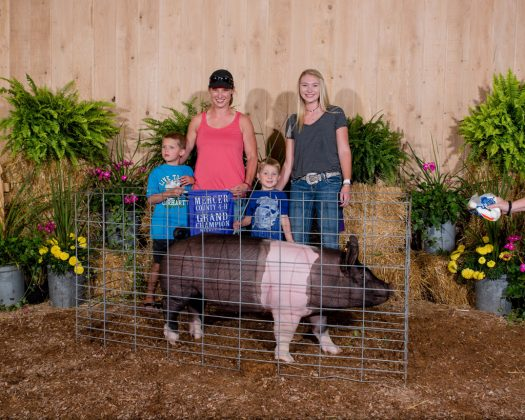 Mercer County Fair Grand Champion Hog