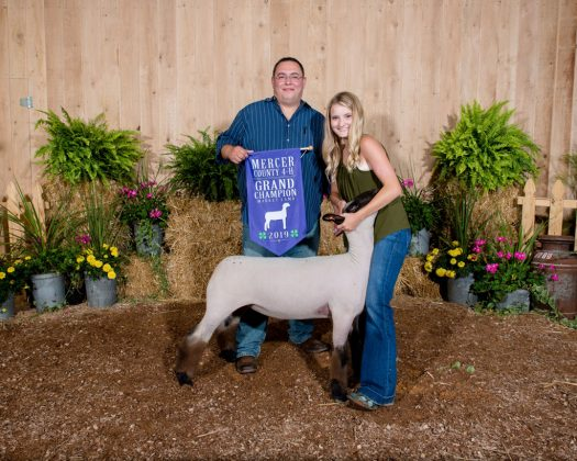 Mercer County Fair Grand Champion Lamb