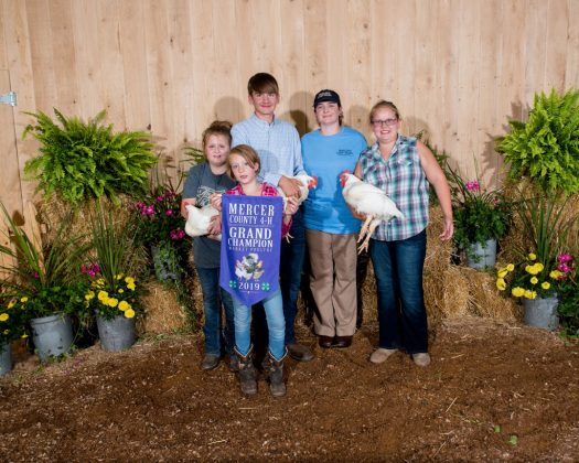 Mercer County Fair Grand Champion Poultry