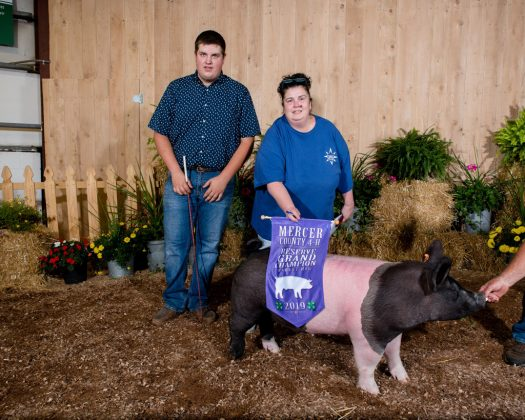 Mercer County Fair Reserve Champion Hog