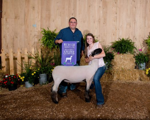 Mercer County Fair Reserve Champion Lamb