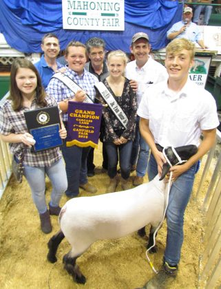 Canfield Fair Reserve Champion Carcass Lamb