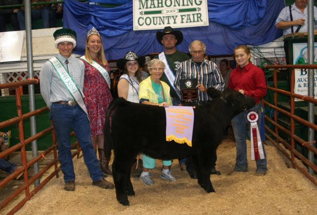 Canfield Fair Reserve Champion Beef Heifer Feeder