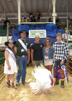 Canfield Fair Grand Champion Turkey