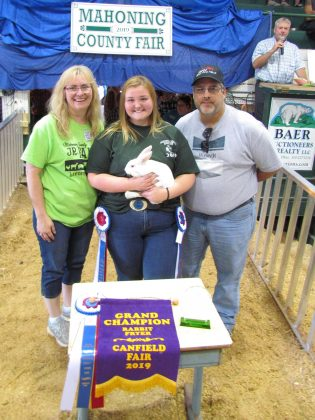 Canfield Fair Grand Champion Rabbit Fryer
