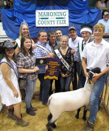 Canfield Fair Grand Champion Carcass Lamb