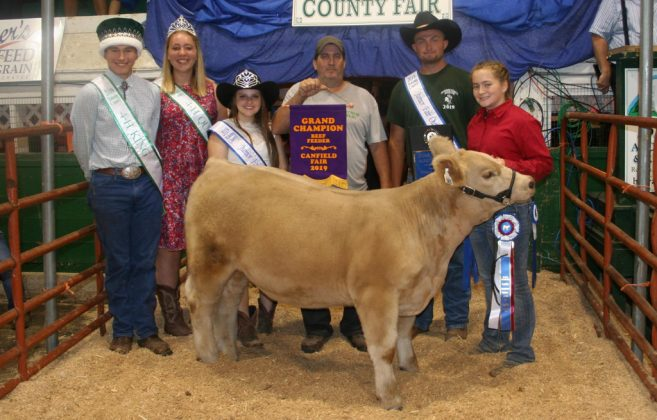 Canfield Fair Grand Champion Beef Feeder