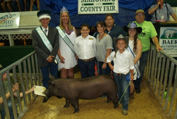 Canfield Fair Reserve Champion Hog