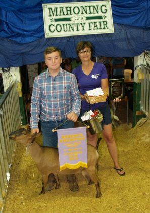 Canfield Fair Reserve Champion Goat Milk Fudge