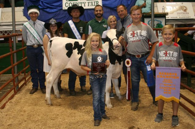 Canfield Fair Reserve Champion Dairy Feeder