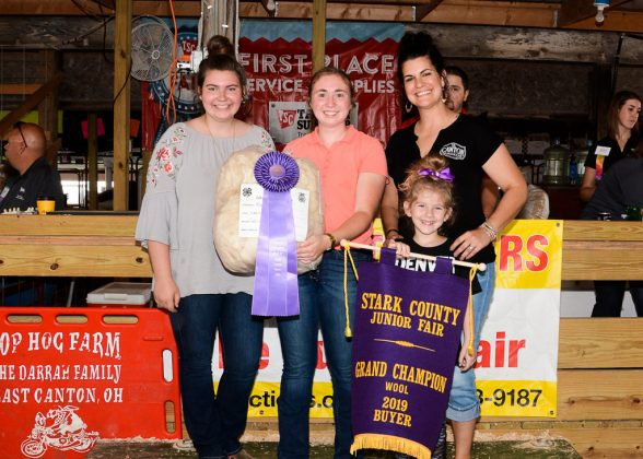Stark County Fair Grand Champion Wool