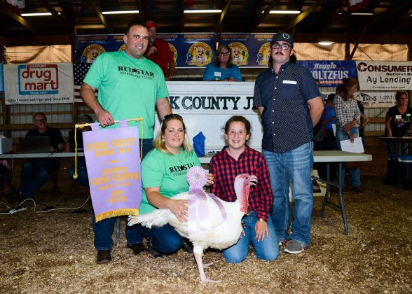 Stark County Fair Reserve Champion Turkey