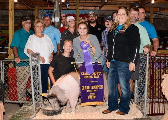 Stark County Fair Grand Champion Hog