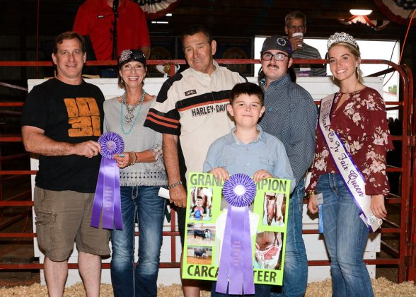 Stark County Fair Grand Champion Carcass Steer