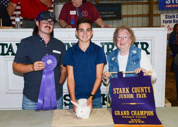 Stark County Fair Grand Champion Fryer Rabbit