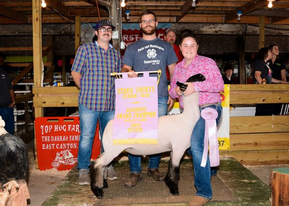 Stark County Fair Reserve Champion Lamb