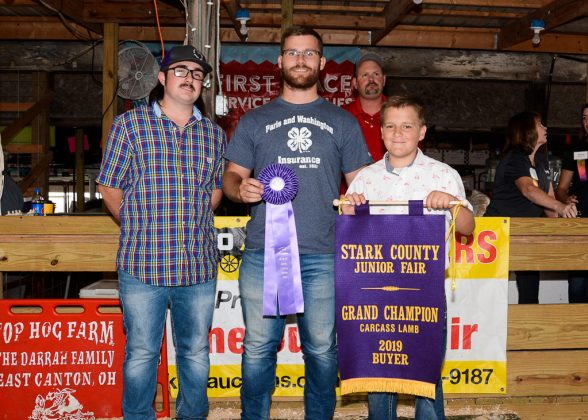 Stark County Fair Grand Champion Lamb Carcass