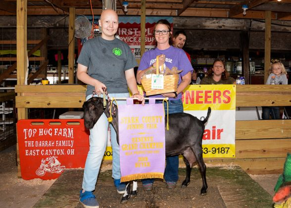 Stark County Fair Grand Champion Milky Goat