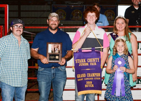 Stark County Fair Grand Champion Dairy Steer Carcass