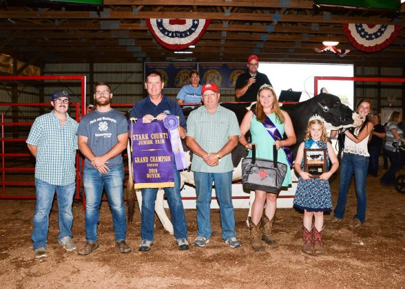 Stark County Fair Grand Champion Cheese