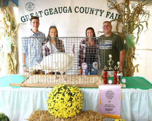 Geauga County Fair Reserve Champion Turkey