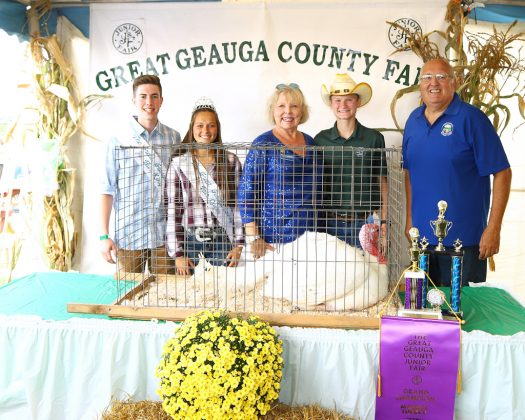 Geauga County Fair Grand Champion Turkey