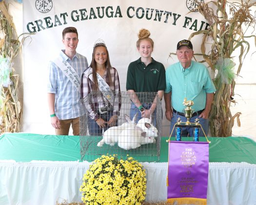 Geauga County Fair Grand Champion Pen of Rabbits