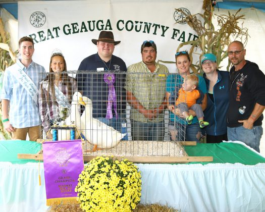 Geauga County Fair Grand Champion Pen of Ducks