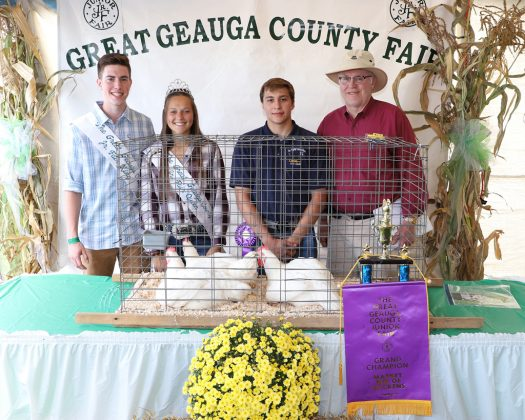 Geauga County Fair Grand Champion Pen of Chickens