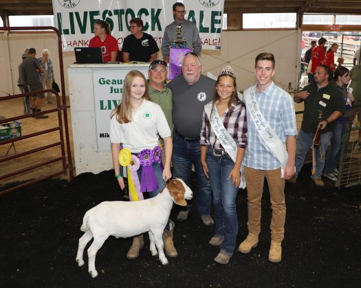Geauga County Fair Grand Champion Goat