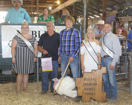 Noble County Fair Reserve Champion Turkey