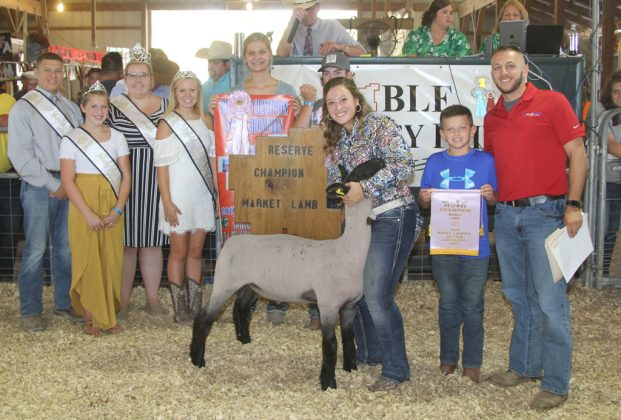 Noble County Fair Reserve Champion Lamb