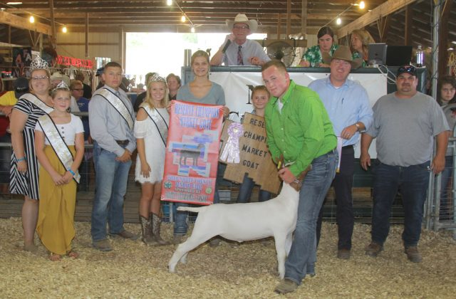 Noble County Fair Reserve Champion Goat