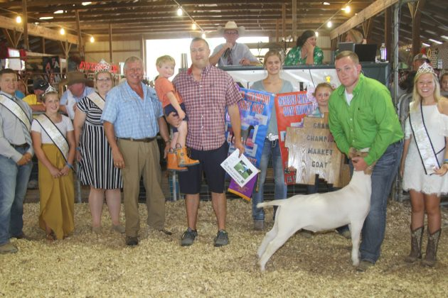Noble County Fair Grand Champion Goat