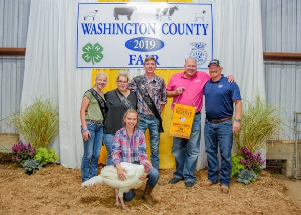 Washington County Fair Reserve Champion Turkey