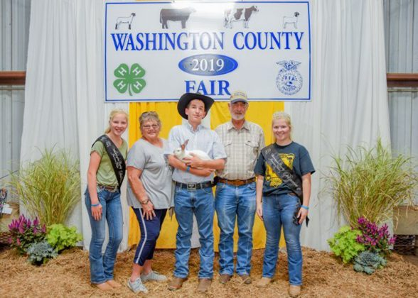 Washington County Fair Reserve Champion Rabbits