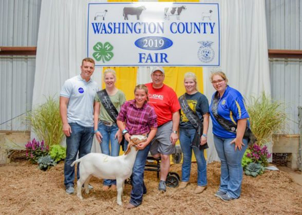 Washington County Fair Reserve Champion Goat