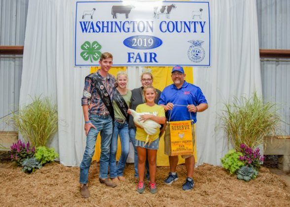 Washington County Fair Reserve Champion Chickens