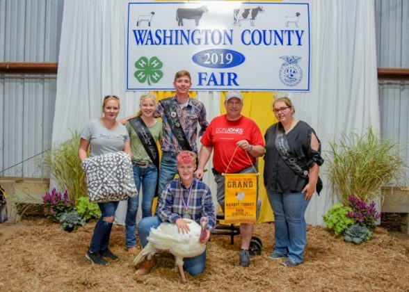 Washington County Fair Grand Champion Turkey