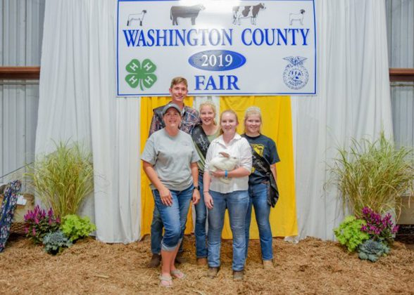 Washington County Fair Grand Champion Rabbits