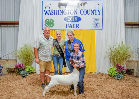 Washington County Fair Grand Champion Goat