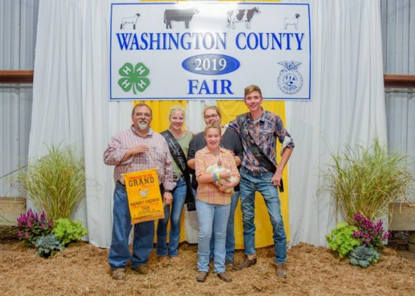 Washington County Fair Grand Champion Chickens